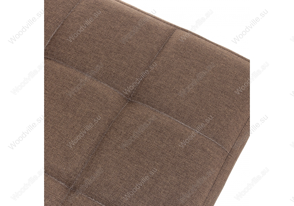 Стул Madina dark walnut / fabric brown