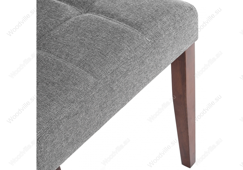 Стул Madina dark walnut / fabric grey