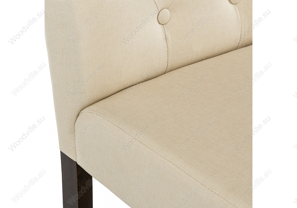 Стул Menson dark walnut  / fabric cream