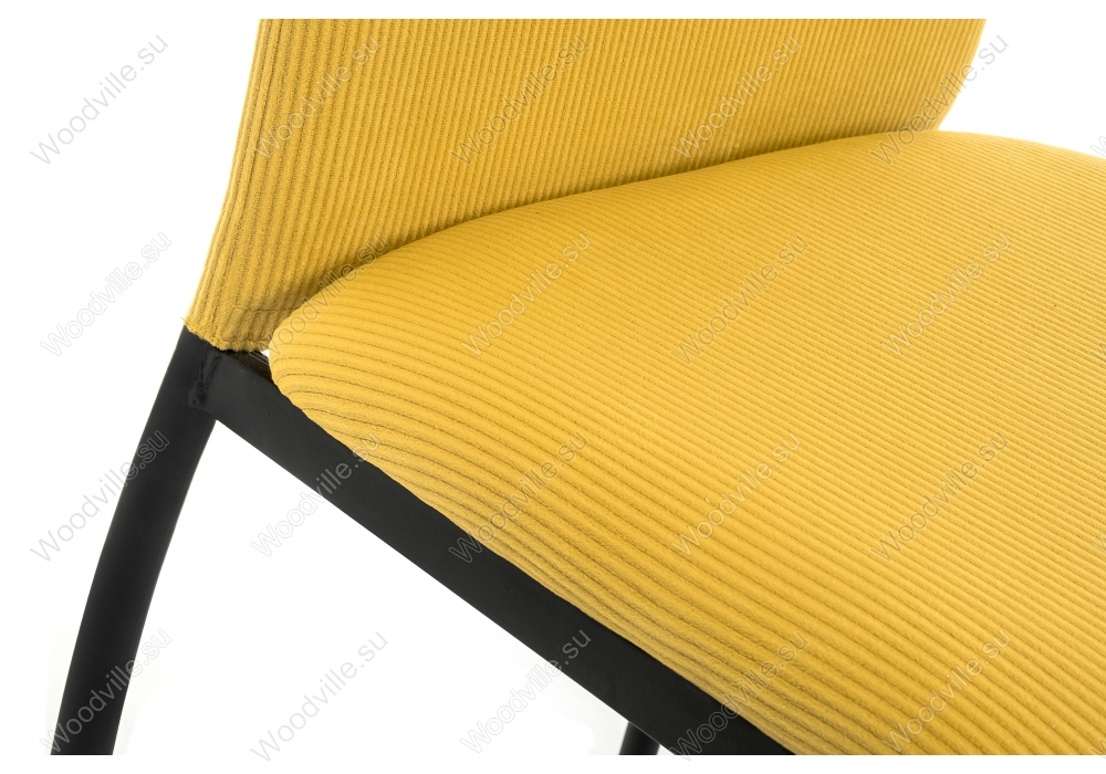 Стул Tod yellow / black
